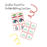 Christmas Themed Free Printable Matching Card Game